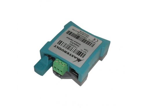 77030800 Interfaz ModBus para MasterBus. Sirve como punto de conexión entre un PLC y la red MasterBus.