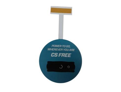 CSFREE-ETIQUETA - Wobbler CS Free, 10 cm