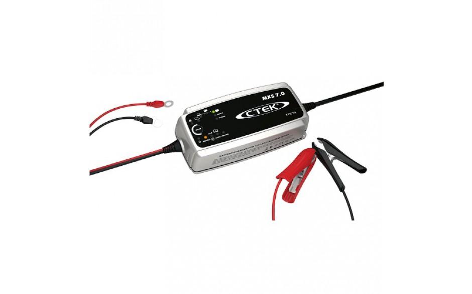 56-731 Cargador de baterías XS 7.0 EU. Ideal para la carga de baterías más grandes, como las de una caravana, barco o coche. Estos tipos de vehículos suelen exigir características que pueden resolver los problemas relacionados con la baterías