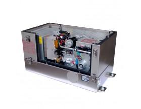 0 015 531 Generador Diésel Panda de 12Kwa, acabado en metal, vista del generador abierto en perspectiva