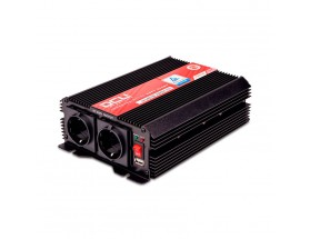 Inversor 12V/230V, 1000W, onda sinusoidal modificada, soft-start, TUV