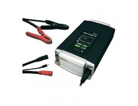 40-016 Cargador de baterías MXT 70 Diseñado para prestar servicio a baterías de 12 y 24 V, cuenta con muy avanzada tecnología y es extremadamente fácil de usar