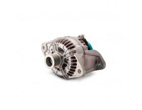 46228152  Alternador Alpha Compact 28 / 150VP (con polea de 8 ranuras ). Los alternadores Alpha Compact están optimizados para proporcionar una alta potencia de salida continua en aplicaciones de almacenamiento de energía.