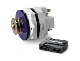 48612130 Alternador Alpha 12/130 III, con regulador Alpha Pro III - Los alternadores Alpha Compact están optimizados para proporcionar una alta potencia de salida continua en aplicaciones de almacenamiento de energía.