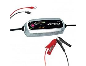56-305 Cargador de baterías XS 5.0 EU. Dispone de multitud de funciones, como el diagnóstico de la batería, que muestra si una batería puede recibir y mantener carga