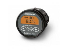 BattMan Pro, panel de monitorización de baterías 12/24VCC, incluye Shunt