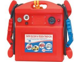 761006 Arrancador baterías SOS 12/24V 1520/760. Para arrancar motores diesel en 24V hasta: 500 CV como asistencia al arranque y 250 CV sin baterías.