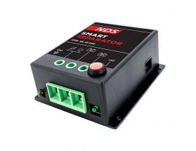 SS12-100 Separador de baterías SmartSeparator 12V-100A. Éste dispositivo automático permite la gestión por separado de la batería de arranque y la batería de servicio.