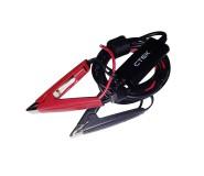 Cable de carga con pinzas para cargador CS FREE